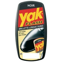 Brillette longue durée pour chaussures Noires - YAK Flash