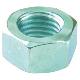 Écrou hexagonal en acier zingué - Ø 10 mm - Lot de 4 - FIX'PRO