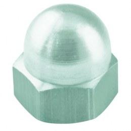 Écrou borgne en acier zingué - Ø 8 mm - Lot de 5 - FIX'PRO