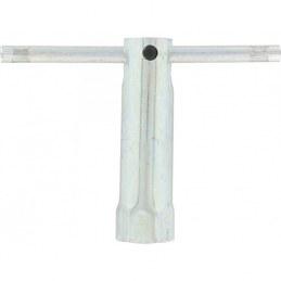 Clé à bougie fixe - 95 mm - Avec douille et rallonge