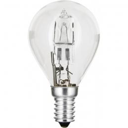 Ampoule halogène ECO - Sphérique - E14 - 20 W - 240 Lumens - DHOME