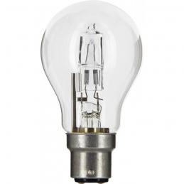 Ampoule halogène ECO - Standard - B22 - 30 W - 410 Lumens - DHOME