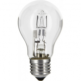 Ampoule halogène ECO - Standard - E27 - 20 W - 240 Lumens - DHOME