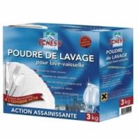 Poudre de lavage - Lave vaisselle - 3 kg - ECNES'S
