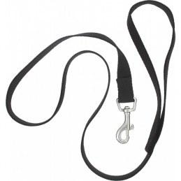 Laisse polypro noir en nylon pour chien - ZOLUX