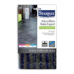 Microfibre Micro-grattante pour balai expert - Tous sols - STARWAX