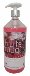Gel lavant aux fruits rouges - 1 L - ECOGENE