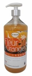 Gel lavant à la fleur d'Oranger - 1 L - ECOGENE
