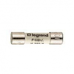 10 Cartouches cylindriques miniature 5x20mm 1.25 A 250V~ - LEGRAND