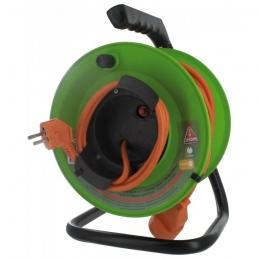 Enrouleur de jardin - 20 M - H05 VV-F 2 x 1,5 mm² - DHOME