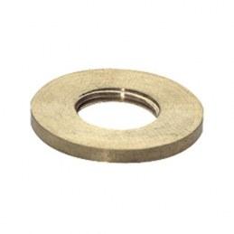 Rondelles en laiton N°1 - Trou de 6 mm - Lot de 100
