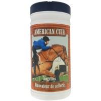Lingettes entretien cuir et sellerie - AMERICAN