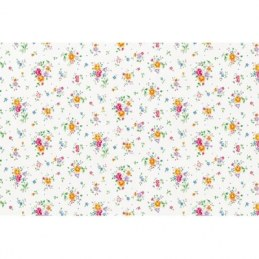 Adhésif brillant - Fleurs - 2 m