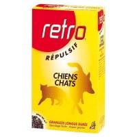 Répulsif en granulés - Chiens et Chats - 400 Grs - RETRO