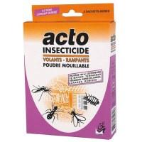 Insecticide fourmi - Poudre mouillable - 3 x 20 Gr - ACTO