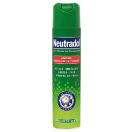 Destructeur d'odeurs Neutradol - Fraîcheur verte - 300 ml
