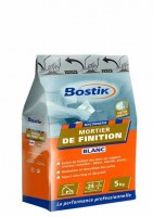 Mortier de finition blanc - 5 Kg - BOSTIK