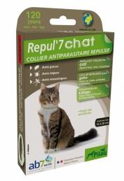 Répul'7® répulsifs Collier Antiparasitaire Répulsif pour chat - PILOU