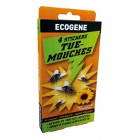 Stickers Tue-Mouches Autocollants X4 - ECOGENE