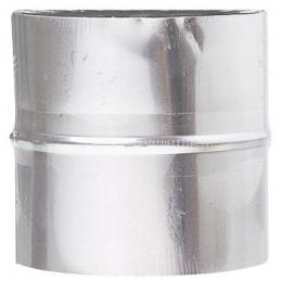 Manchon de raccordement - Acier galvanisé - 125 mm - DMO