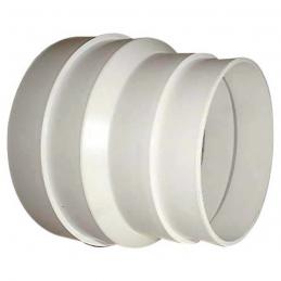 Réduction PVC Femelle / Mâle - 125 x 100 mm - DMO
