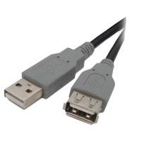 Rallonge USB 2.0 AA Male /Femelle 1,80 m - OMENEX