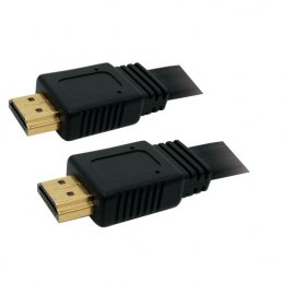 Câble HDMI / HDMI plat 1,80 m - OMENEX