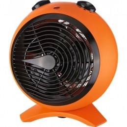 Radiateur soufflant 2000 Watts - Sphère - Orange et noir - VARMA