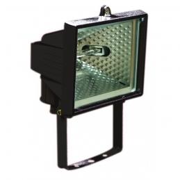 Projecteur halogène - 120 Watts - Noir - DHOME