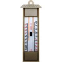 Thermomètre Mini-Maxi en plastique - sans mercure - sable - STIL
