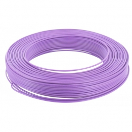 Câble d'installation H07V-U 1.5 mm² - 100 M - Violet - ELECTRALINE