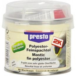 Mastic polyester fin - 1 Kg - Blanc - PRESTO
