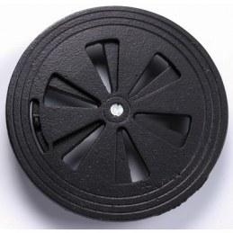 Grille ronde réglable - Fonte - Noir - Diamètre 150 mm - JARDINIER MASSARD