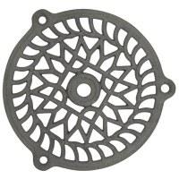 Grille fixe - Fonte - Diamètre 160 mm - JARDINIER MASSARD