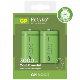 2 piles rechargeables - Recyko 300CHCBE-2GB2 / C - GP