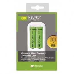 Chargeur de piles Ultra-compact - Recyko Plus - PB410 PB410GSE130-2FRB2- GP