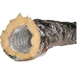 Conduit souple isolé en aluminium - 127 mm x 10 M - DMO