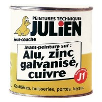 Sous-couche Alu, Zinc, Cuivre, Galvanisé - 500 ml - JULIEN