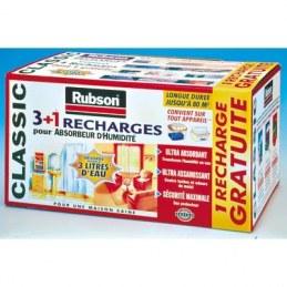 Recharge pour absorbeur d'humidité Classic - 1 Kg - RUBSON