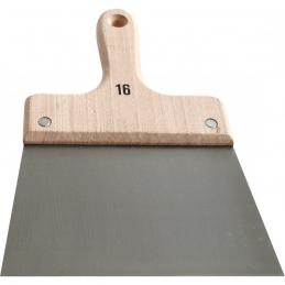 Couteau à enduire - Acier - Manche bois - 24 cm - OUTIBAT