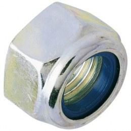 Écrou 6 pans hexagonal autofreiné - Indessérable - Ø8 mm - Lot de 100 - GFD