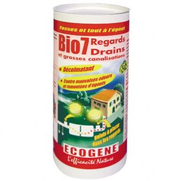 Entretien regards / drains - 3 x 200 gr - Bio 7 - ECOGENE