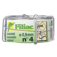 Bobine de fil de fer galvanisé N°12 - Ø1.8 mm - FILIAC