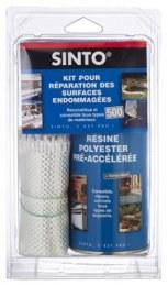 Kit de réparation - KIT500 Resine + Fibre - SINTO