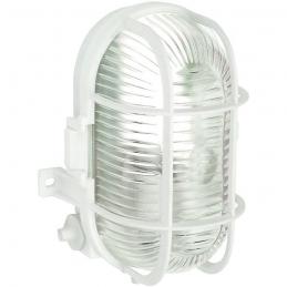 Hublot étanche ovale avec grille de protection - DHOME