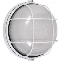 Hublot étanche rond avec grille de protection - Aluminium - DHOME