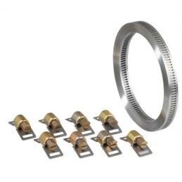 Bande de 3 M de collier à découper avec 8 têtes - Ø 8 mm - CAP VERT