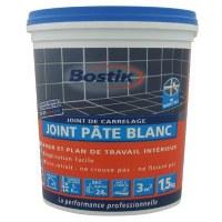 Joint de carrelage - Pâte Blanc - 1.5 Kgs - BOSTIK