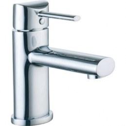 """Mitigeur pour lavabo de salle de bain - """"Design"""" - Chromé - NEPTUNE"""