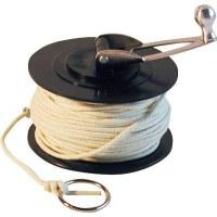 Rouleau de corde de rechange pour cordeau traceur - 50 M - OUTIBAT
